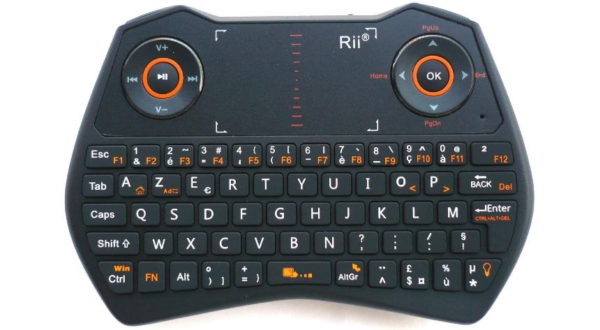 clavier rii rk400